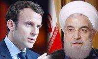 ماكرون يطمئن روحاني إلتزام فرنسا بالاتفاق النووي