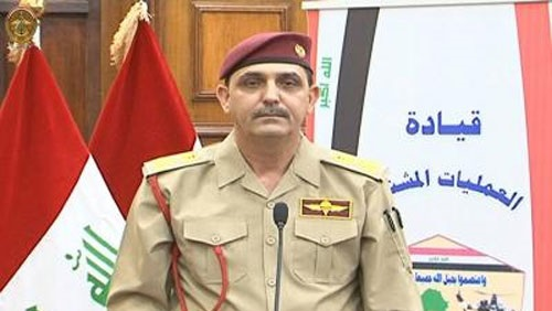 العمليات المشتركة:البيشمركة جزء من منظومة الدفاع العراقية