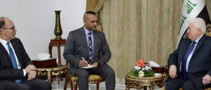 معصوم للسفير الأمريكي:كاكا سيليمان أنتم القرار في حل أزمة بغداد -أربيل!
