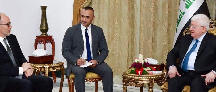 السفير الامريكي:بلادي حريصة على وحدة العراق واستقراره