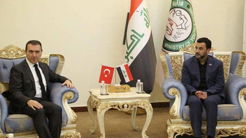 عبطان يدعو المنتخب التركي لكرة القدم لزيارة العراق