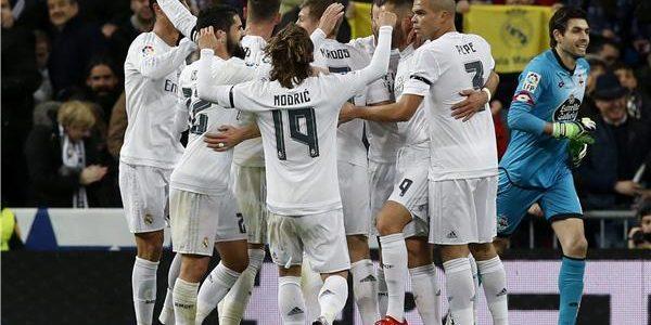 فوز أول لريال مدريد في برنابيو