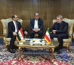 الجبوري ولاريجاني يبحثان الأزمة بين بغداد وأربيل