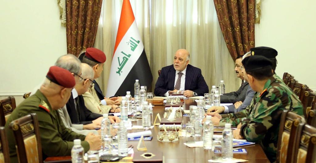 العبادي يترأس اجتماعاً للمجلس الوزاري للأمن الوطني