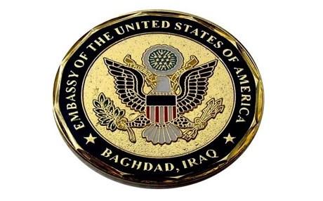 السفارة الأمريكية ترفض إرغام النازحين مغادرة مخيماتهم