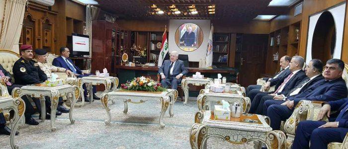 ممثلو العرب والتركمان في مجلس كركوك يقاطعون اجتماع معصوم