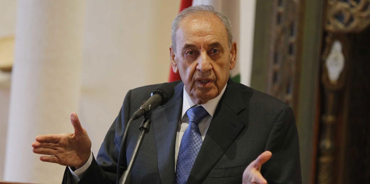 بري:استقالة الحريري غير دستورية