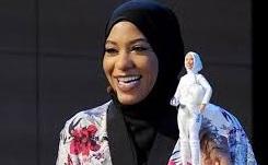 """باربي محجبة تكريما لـ""""بطلة أميركية مسلمة"""""""