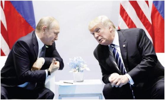 """ترامب وبوتين يتفقان على حل الأزمة السورية """"سياسياً"""""""