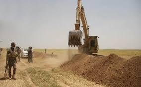 عمليات الانبار:تحصين الحدود السورية العراقية