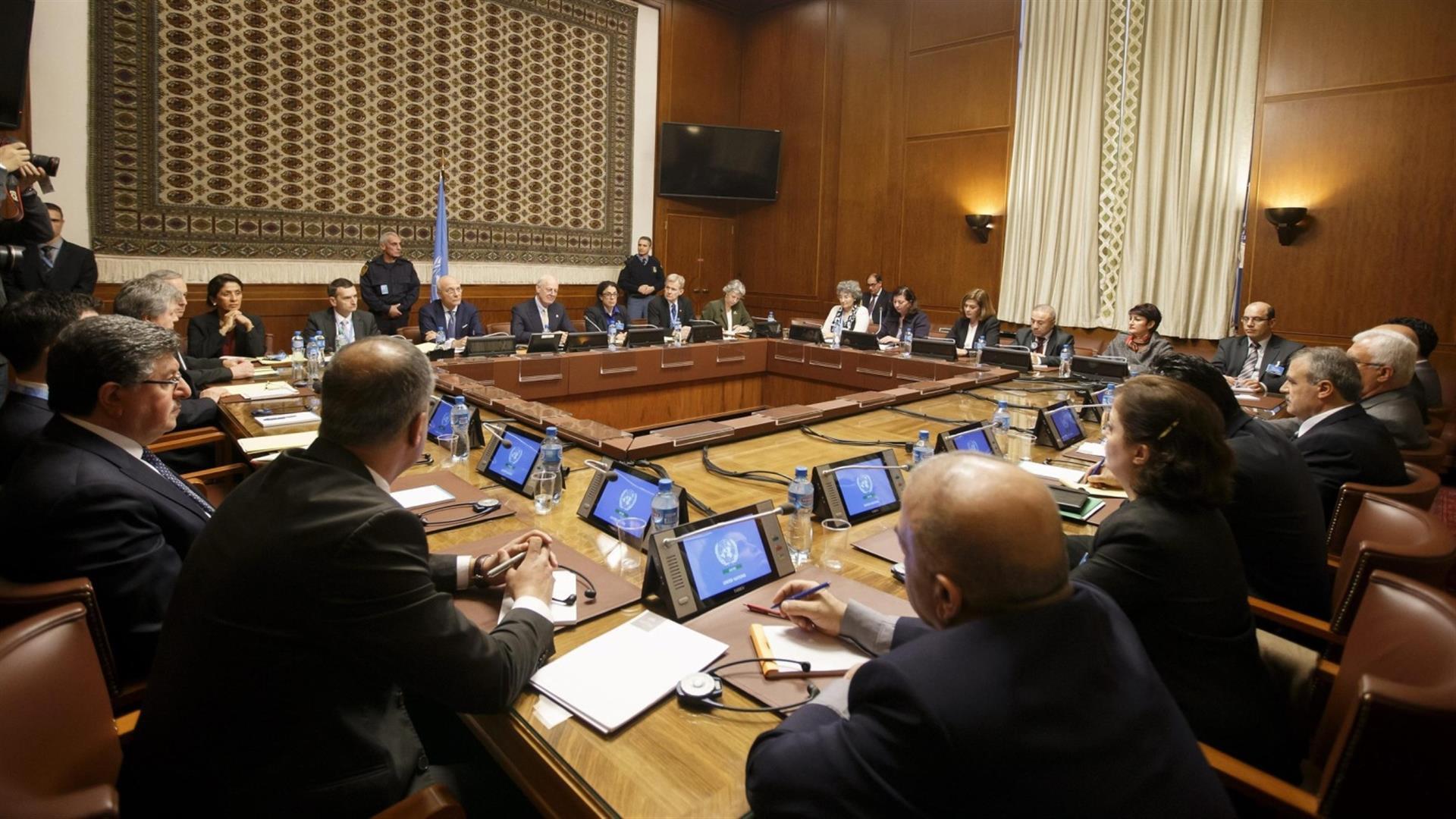 اليوم..إنطلاق المحادثات السورية السورية في جنيف