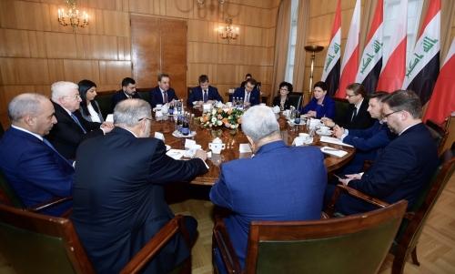 معصوم يثمن الدور البولندي في دعم العراق
