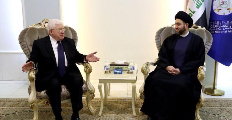 معصوم للحكيم:الإقليم يستعد للحوار مع بغداد