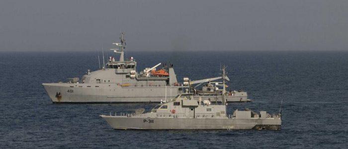 القوة البحرية تنفذ تمرينا لرفع كفائتها