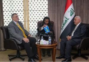 الفياض وكوبيتش يبحثان الوضع الامني والسياسي في العراق