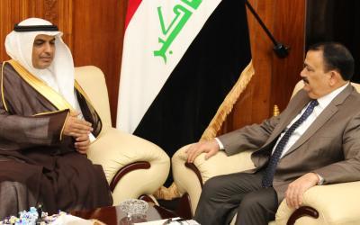 الحيالي والشمري يؤكدان على تعزيز التعاون بين العراق والسعودية