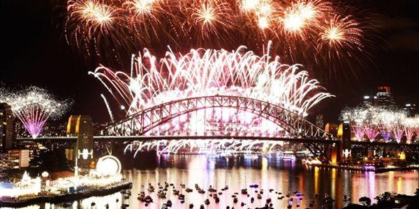 سيدني واحتفالات العالم برأس السنة