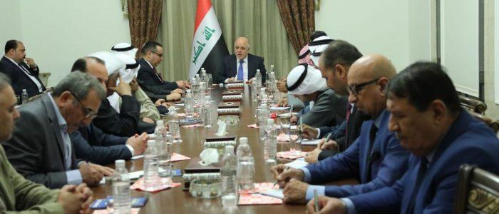 العبادي يؤكد على أهمية مؤتمر الكويت لاعمار العراق