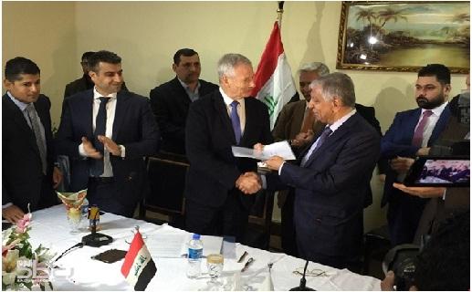 وزارة النفط:توقيع عقد مع شركةBP لتطوير حقل كركوك