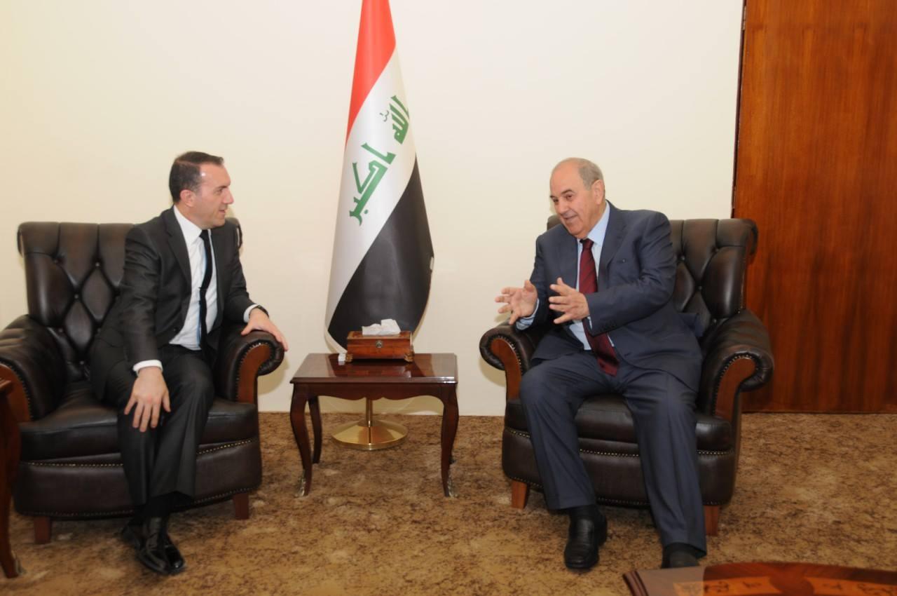 علاوي:نرفض التدخل الخارجي في حوار بغداد – أربيل