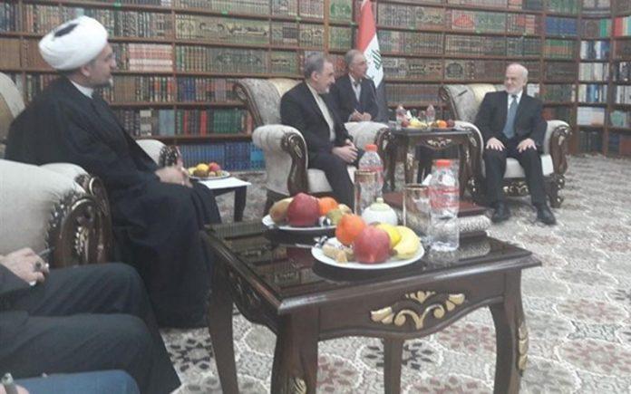 """ولايتي """"يثمن"""" دور الجعفري في دفاعه عن إيران ومشروعها في المنطقة"""