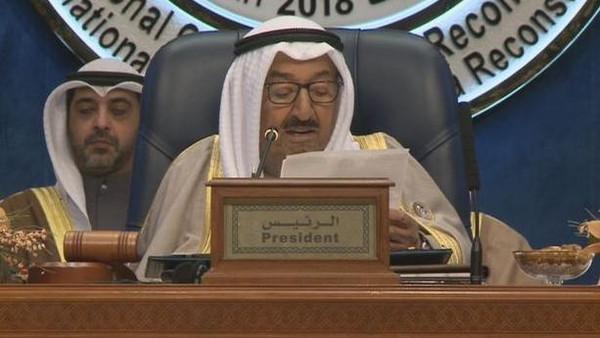 أمير الكويت يعلن عن تخصيص ملياري دولار كقروض واستثمار لدعم العراق