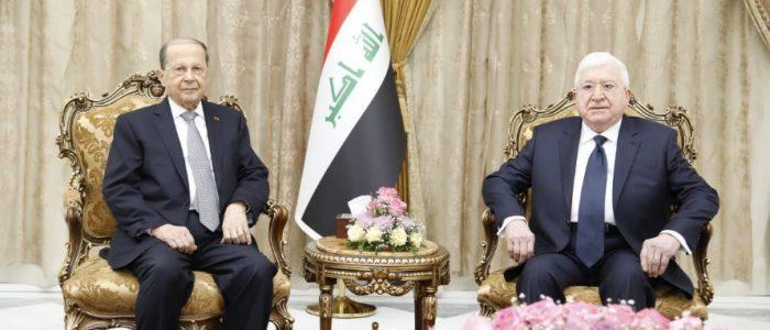 """معصوم وعون يتفقان على """"توحيد"""" الرؤى قبل قمة السعودية"""