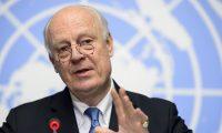 """دي ميستورا:عملية """"غصن الزيتون"""" تقوض جهود السلام في سوريا"""