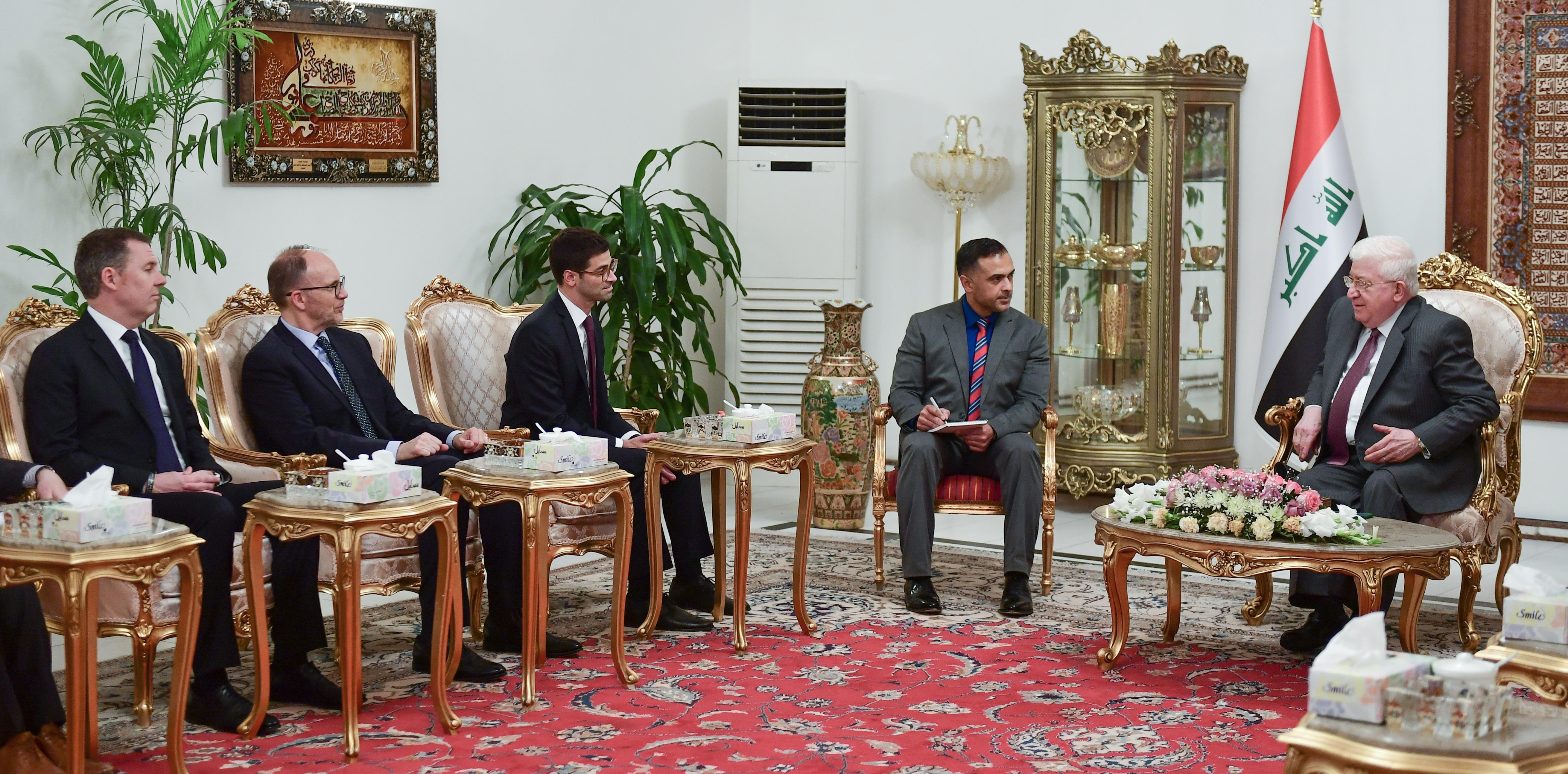 البنتاغون:نتطلع إلى تعاون أمني طويل الأمد مع العراق