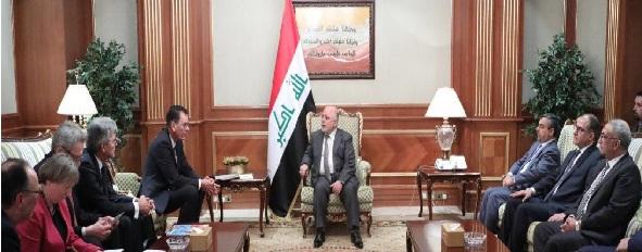 ألمانيا تقدم عرضاً للعبادي لتنفيذ مشاريع إستراتيجية في العراق