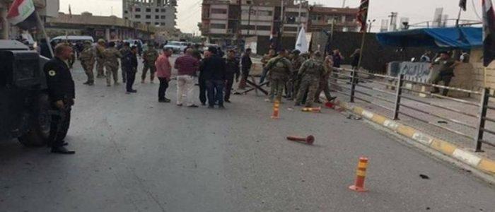 هجوم انتحاري يستهدف مقرا للحشد الشعبي وسط كركوك