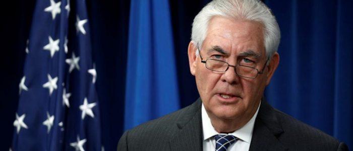 تيلرسون:98% من الأراضي العراقية تم تحريرها من قبل التحالف الدولي
