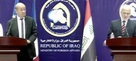 لودريان:فرنسا ستبقى دائما في جانب العراق