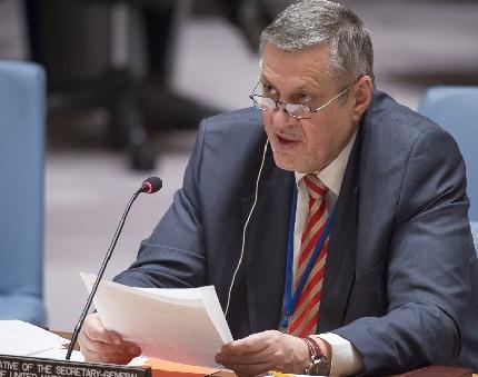 كوبيتش:على العراق تحقيق المصالحة الوطنية من خلال القوانين وليس بالتصريحات