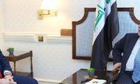 العبادي وماستر يبحثان تعزيز التعاون الأمني بين بغداد وواشنطن