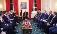 العبادي يدعو مجلس الشيوخ الأمريكي إلى دعم استقرار العراق