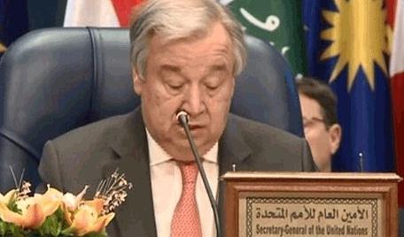 غوتيريش يدعو الحكومة العراقية إلى تحقيق المصالحة الوطنية والقضاء على المليشيات