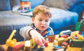 دراسة تحذر من الالعاب البلاستيكية للاطفال