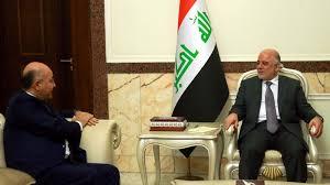 """تحالف صالح:العبادي """"تعهد"""" باستئناف الرحلات الدولية عبر مطاري السليمانية وأربيل قبل يوم 20 من الشهر الجاري"""