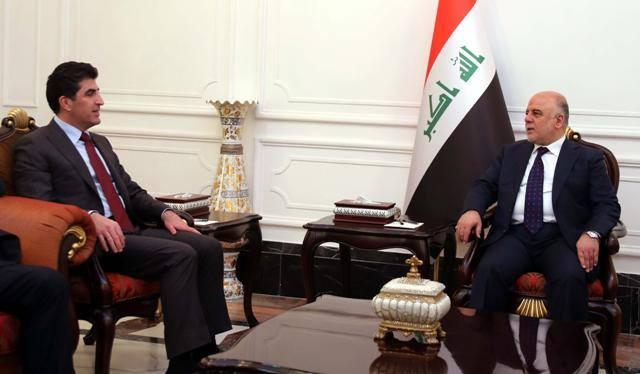 """التغيير:اتفاق """"سري""""بين العبادي وحكومة كردستان"""