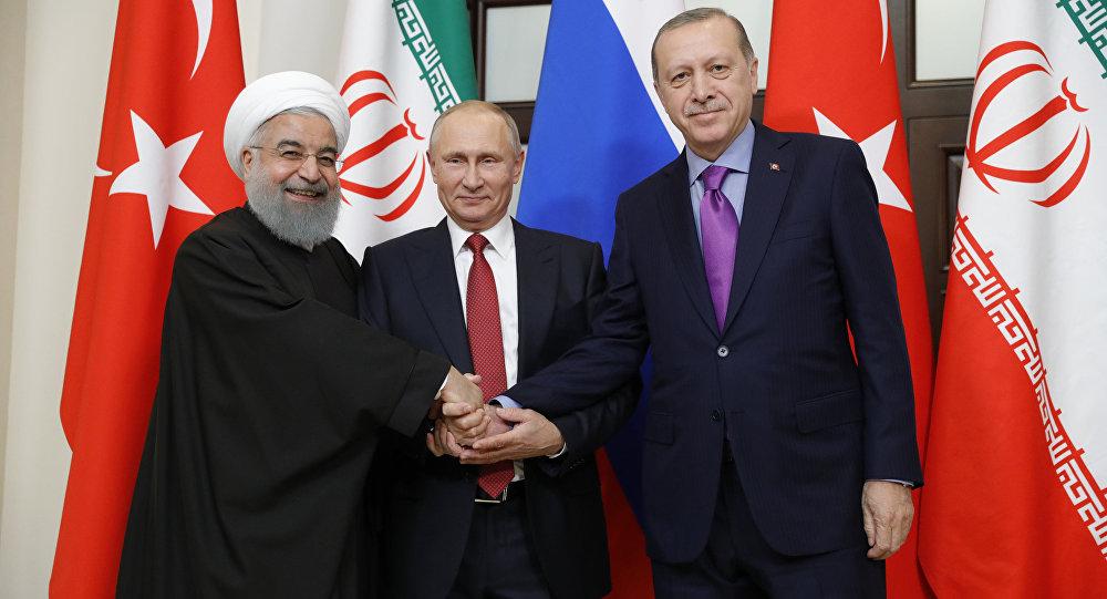 تركيا: قمة ثلاثية بين بوتين وأردوغان وروحاني في الشهر المقبل لبحث الأزمة السورية