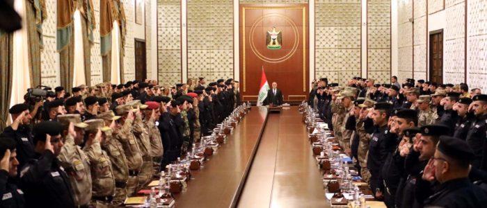العبادي:هديتنا إلى الشعب الكردي فتح المطارات وصرف الرواتب