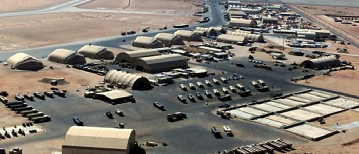 صحيفة:الولايات المتحدة تسعى لإنشاء اكبر قاعدة عسكرية في منطقة القيارة