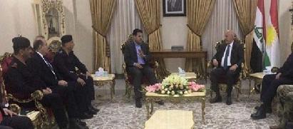 وزير الداخلية يبحث في أربيل آلية العمل في مطارات ومنافذ الإقليم