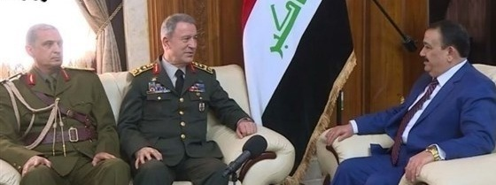 العراق وتركيا يؤكدان على تعزيز التعاون الأمني والعسكري بين البلدين