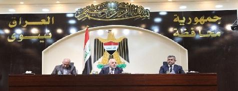 العبادي يجتمع بمدراء الوحدات الإدارية والخدمية في محافظة نينوى