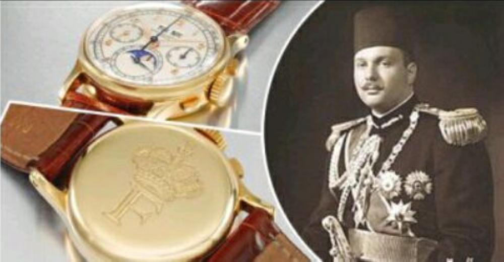 ساعة الملك فاروق تباع بسعر  912500 دولار في مزاد دبي