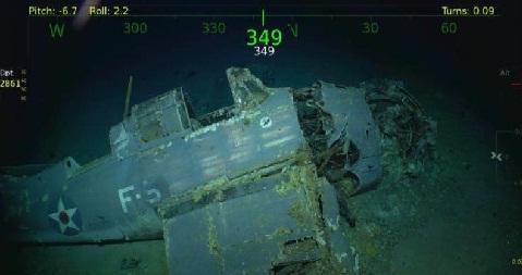 بعد 76 سنة..اكتشاف حطام حاملة الطائرات الأمريكية