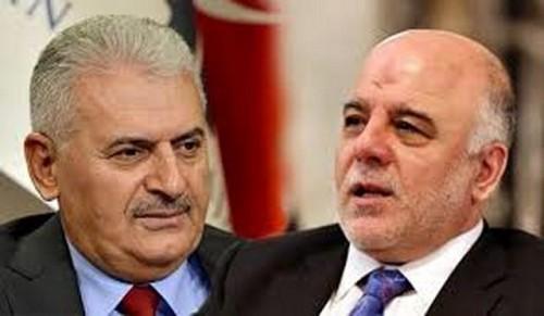 يلدريم يؤكد على أحترام تركيا للسيادة العراقية