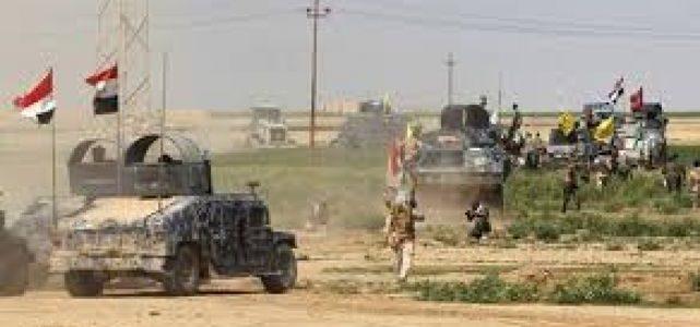 انطلاق عملية عسكرية ضد داعش في ديالى